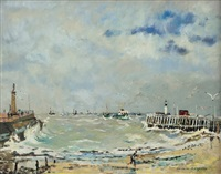 tempete a ostende by jacques bouyssou