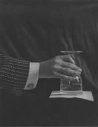 a glass full of water turned over and closed, 1894 by mcdermott & mcgough