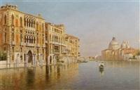 the grand canal, venice by rafael senet y perez