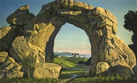 rock arch by david ligare