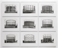 gasometers by bernd and hilla becher