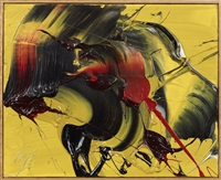 auspicious yellow by kazuo shiraga