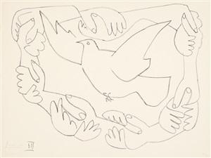 les mains liées, iii (die verschränkten hände, iii) by pablo picasso