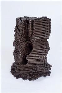 tour de babel (tower of babel) by arman