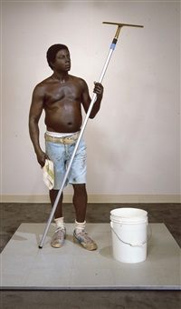 window washer by duane hanson