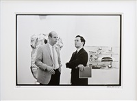 robert indiana and claes oldenburg ii by william john kennedy