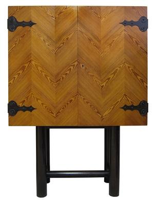unique cabinet by jean royère