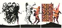 modern dance series 1: #21, #28, #99 by balint zsako
