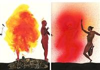 modern dance series 1: #40, #25 by balint zsako