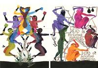 modern dance series 1: #96, #6 by balint zsako