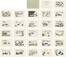 """la tauromaquia o arte de torear"" (josé delgado alias pepe illo) (die kunst des stierkamps oder die kunst, den stier zu präsentieren) by pablo picasso"