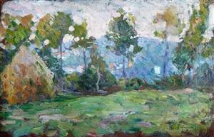 paysage à la meule by henri lebasque