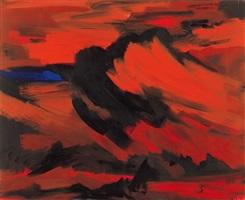 sommerabend. schwül (himmelbilder) by bernd zimmer