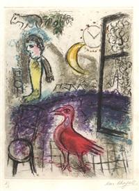 de mauvais sujets by marc chagall