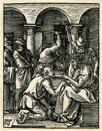 christ crowned with thorns by albrecht dürer