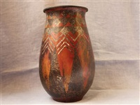 vase by claudius linossier