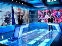 hiding in france - 12, tv studio by liu bolin