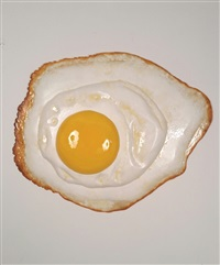 fried egg by peter anton