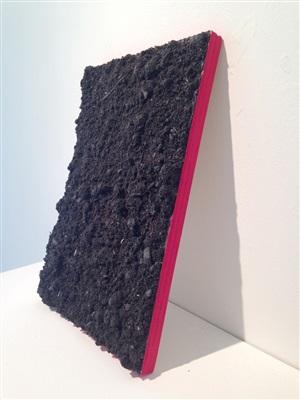 leuven landscape (cadmium red 127) by ugo rondinone