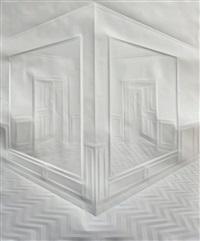 ohne titel (korridore mit spiegeln) / untitled (hallways with mirrors) by simon schubert