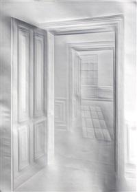 ohne titel (licht durch türen) / untitled (light through doors) by simon schubert