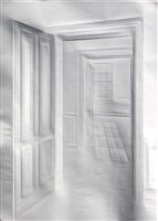ohne titel (licht durch türen) / untitled (light through doors) by simon schubert