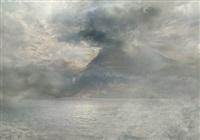 after j.m.w. turner, a storm over the rigi, 1844 by hiroyuki masuyama