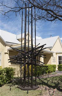 memorial structure by herbert bayer