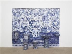 lake michigan bathroom (ii) by ann agee