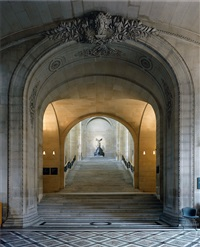 galerie daru #1, musée du louvre, paris, france by robert polidori