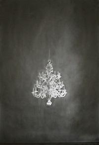 ohne titel (kronleuchter) / untitled (chandelier) by simon schubert