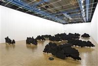 view of the exhibition « latifa echakhch, l'air du temps – prix marcel duchamp 2013 », centre pompidou, paris, 2014 by latifa echakhch