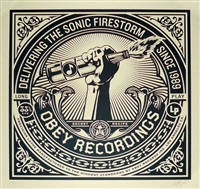 sonic firestorm by shepard fairey