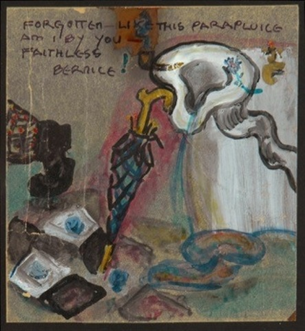 forgotten like this parapluice am i by you faithless bernice by baroness elsa von freytag-loringhoven