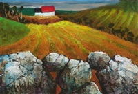 hay field by kenneth webb