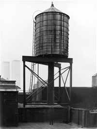 water tower, new york city: crosby / houston st by bernd and hilla becher
