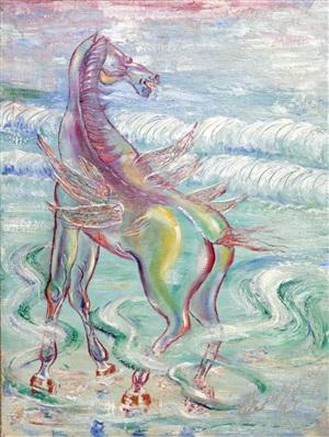 caballo alado by carlos enriquez