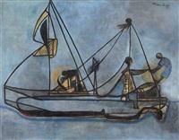 bote de pescadores by mariano rodríguez