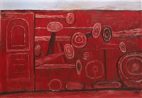 door & room by philip guston