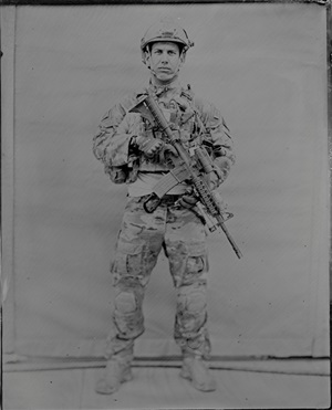 ssgt, pararescue 3, from afghanistan series by ed drew