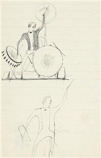 drummer by elie nadelman