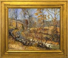 meandering brook by walter emerson baum