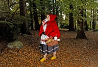 red riding hood by dina goldstein