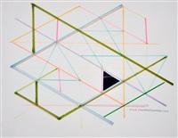 variation on a hexagon 2 by monir shahroudy farmanfarmaian
