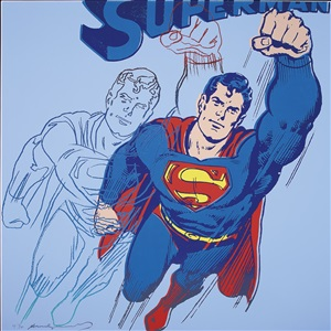 superman (trial proof) by andy warhol