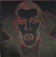 dracula (trial proof) by andy warhol