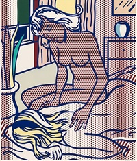 two nudes, state i (c. 285) by roy lichtenstein