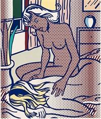 two nudes, state i (c. 285) by roy lichtenstein