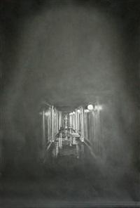 ohne titel (dunkler korridor 2) / untitled (dark corridor 2) by simon schubert
