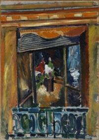 la fenêtre de l'atelier by jean dufy